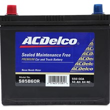 Ắc quy Acdelco 65 AH, S75D23RBH